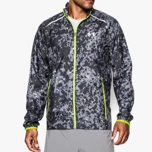 Men's UA Storm Launch Run Lightweight Rain Jacket